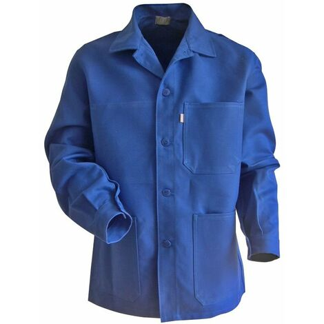 "main image of ""Veste de travail 100% Coton bleu bugatti PLANTOIR LMA Bleu S"""