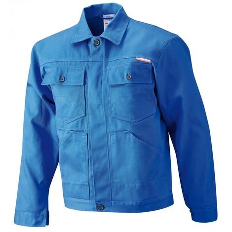 Veste de travail , 100% coton,290 g/m2,Gr.58,bleu