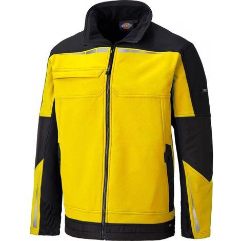 Veste de travail bicolore PRO Jaune / Noir - DICKIES - DP1001