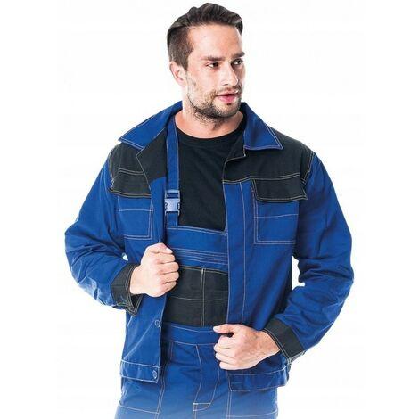 Veste de travail de protection bleue
