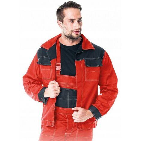 Veste de travail de protection rouge