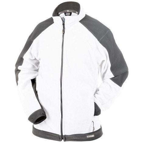 KAZAN Veste de travail femme confortable et résistante Blanc - T. XL - Dassy