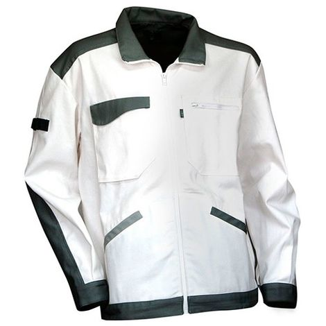 veste de travail peintre ENDUIT LMA Blanc