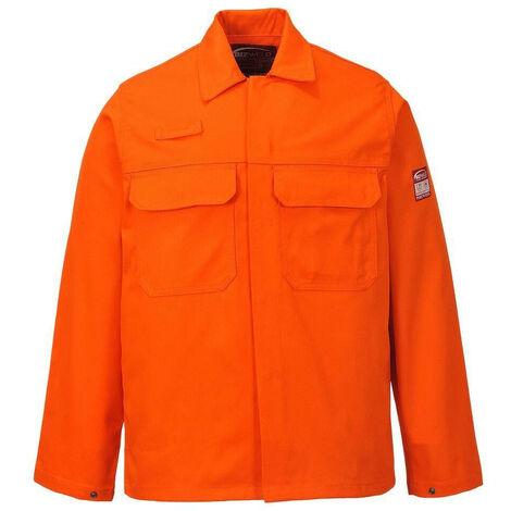 Veste de travail soudeur Bizweld Portwest Orange L