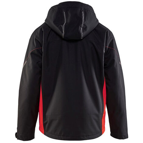 Veste hardshell - 9955 Noir/Rouge fluo - Blaklader