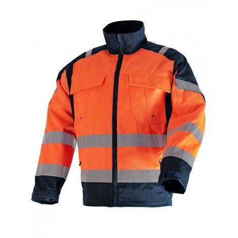 Veste Haute visibilité Orange/Bleu SINGER - T.XL - VITO04