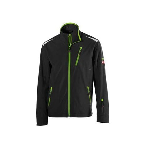 Veste homme FORTIS 24, Black/lime green,Taille S