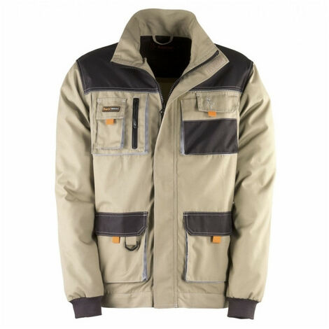 Veste multi poches SMART beige-noir KAPRIOL - plusieurs modèles disponibles