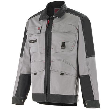 Veste multipoche Work Attitude 250 - Lafont - Gris contrasté noir - Taille 4