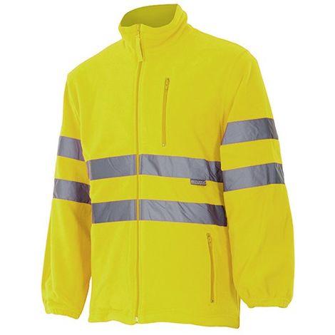 Veste polaire haute visibilité 3 poches 100% polyester 280 gr/m2 - Orange Fluo - 181 - Velilla