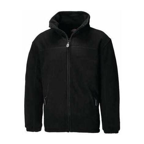 Veste polaire zippée matelassée noire - Dickies