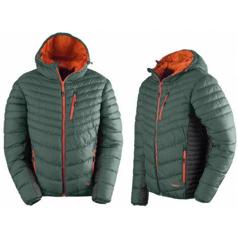 Veste rembourée vert Thermic Jacket KAPRIOL - plusieurs modèles disponibles