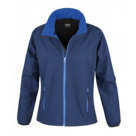 Veste Softshell femme Result Navy / Royal