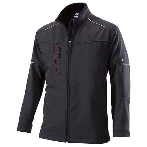 Veste softshell froid 1869 572, Taille M, noir