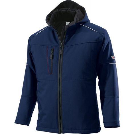 Veste softshell froid 1869 572, Taille XL,bleu nuit
