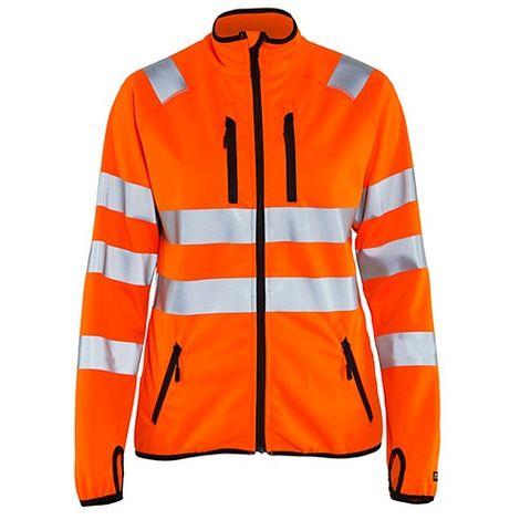 Veste softshell haute-visibilité femme - 5300 Orange fluo - Blaklader