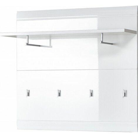 Vestiaire ouvert moderne 96 cm Suzana Blanc