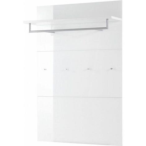 Vestiaire ouvert moderne blanc Pascaline