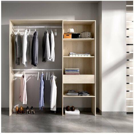 Vestidor Suit para dormitorio 3 baldas y 1 cajon.
