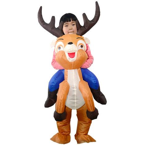 Vetements gonflables pour enfants Elk Vetements gonflables pour spectacle de Noel pour enfants FZ1748S
