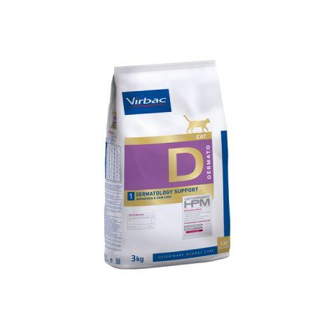 Veterinary HPM Cat Dermatology Support - 3 kg