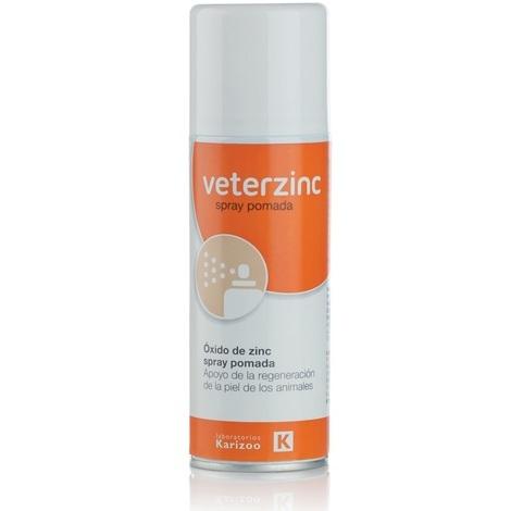 VETERZINC, óxido de zinc para curar heridas de animales domésticos y ganado - 200 ML