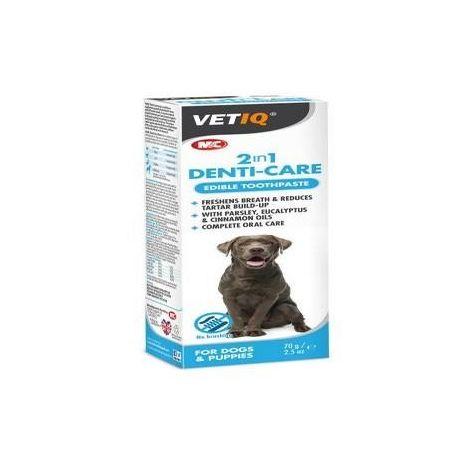 VetIQ 2 In 1 Cat/Dog Dentifresh Liquid Paste (70g) (May Vary)