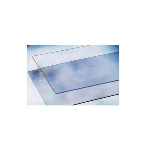 Vetro Sintetico Trasparente - Battisedia 80X12 cm senza Tasselli