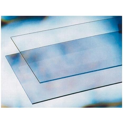 500 mm x 100 mm 15,2 cm 6 mm spessore vetro temperato