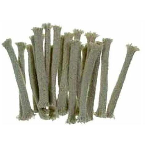 Vette Stoppino Torce Bamboo 0,8 H 12 Pezzi 20