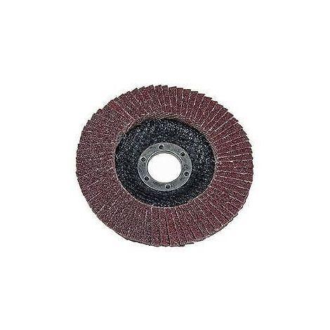 VEWERK Pack of 10 Flap Discs 40 Grit Oxide (115mm X 22.2mm) 8020