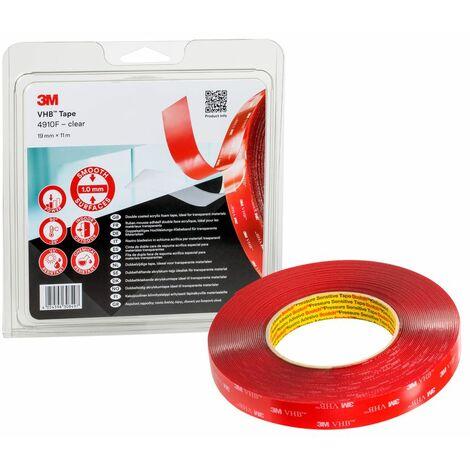 VHB™ Tape 4910 F, Clear 25 mm x 33 m