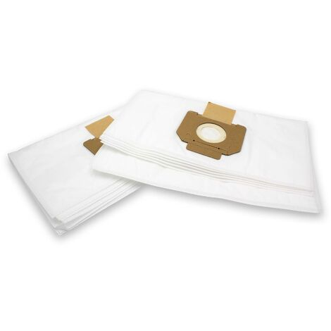 vhbw 10 bag microvlies for carpet wet vacuum cleaner multipurpose Nilfisk / Alto Attix 30, 30-01, 30-11 PC, 30-21 PC, 350-01, 360-11, 360-21