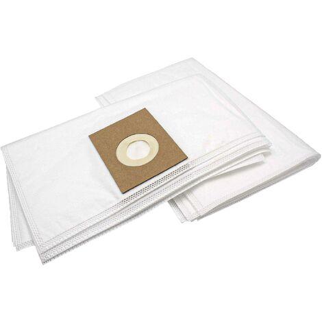 vhbw 10 bag microvlies for carpet wet vacuum cleaner multipurpose vacuum cleaner Pool T 115