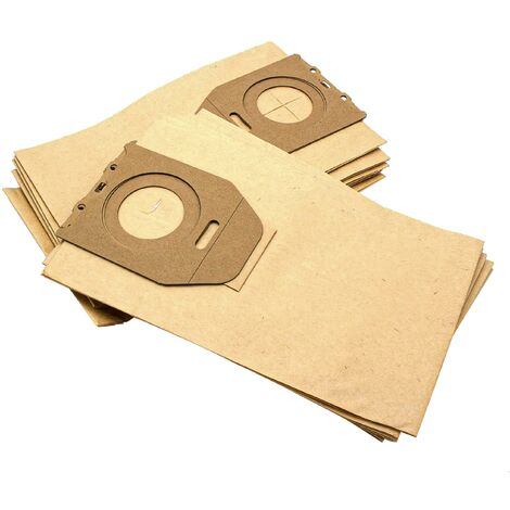 vhbw 10 bag paper for carpet wet vacuum cleaner multipurpose vacuum cleaner Dirt Devil DD 2400, 2650, 270