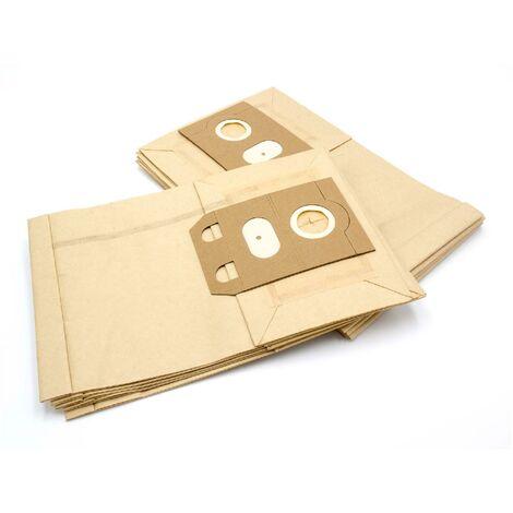 vhbw 10 bag paper for carpet wet vacuum cleaner multipurpose vacuum cleaner Electrolux Z 470, Z 498, Z 95, Z 96, Z430 t/m