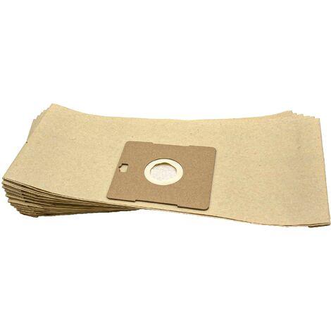 vhbw 10 Bolsas de papel para aspiradoras, limpiador multiusos de LG Electronics RG 105, Turbo Extra V-982 CE