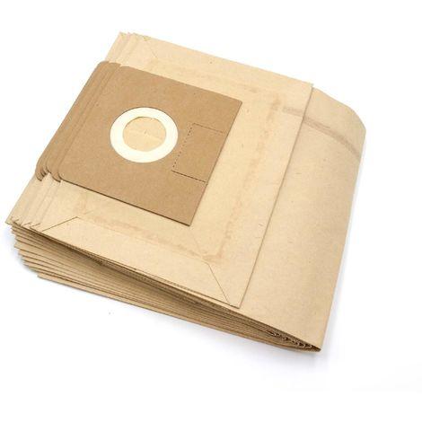 vhbw 10 Papier Staubsaugerbeutel Filtertüten für Staubsauger Saugroboter Kärcher NT 35/1 Eco/ TE, NT 351 eco, NT 351 Eco/ Profi/ HO, NT 361