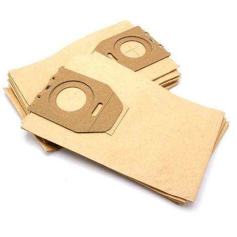 6000-6999 5200 5000-5999 5300 vhbw 10 Staubsaugerbeutel Filtert/üten aus Papier f/ür Staubsauger K/ärcher VC 5000 6200 6100
