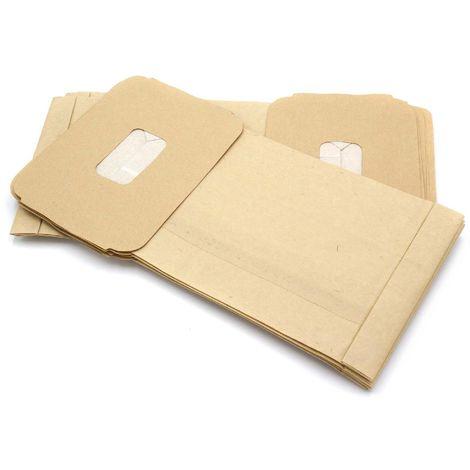 R Darel 10x Staubsaugerbeutel Papier für DeLonghi XWDA 150
