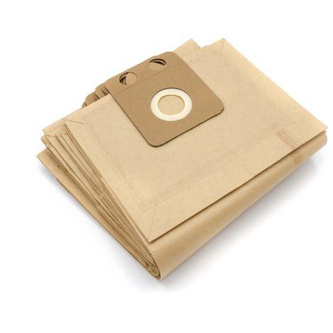 4 3 600 vhbw 10 sacs papier pour aspirateur robot aspirateur multi-usages Rowenta RU 18 Collecto 5 19 6 2 630 600-635 605 635