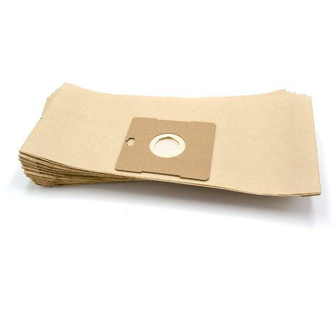 vhbw 10 sac paper pour aspirateur robot aspirateur multi-usages Severin BR 7948, 7952, 7956, 7960