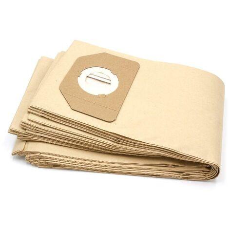 BSS 1261 10x Sacchetto per Aspirapolvere Carta per Clatronic BS 1260 R