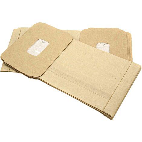 10x Sacchetto per Aspirapolvere Carta per Miele S 4581 BLACK MAGIC S 4780 S 4781