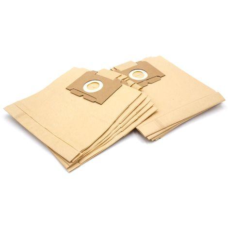 DCT 197 10x Sacs à poussière papier pour Menalux 1800
