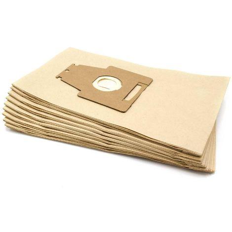 10x Aspirateur Sacs Papier Pour Siemens VS 9 pr 19 Siemens VS 9 pr 20