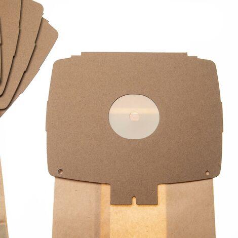 vhbw 10 Staubsaugerbeutel Ersatz für Electrolux E6, E6N für Staubsauger, Papier 26.25cm x 15,15cm