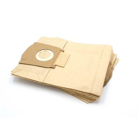 10x Staubsaugerbeutel Papier für Privileg 065 992 065992 066 154 066154