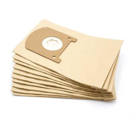 10x Staubsaugerbeutel Papier für Privileg 104 480 104480 106 123 106123