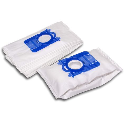 vhbw 10x sacs d'aspirateur, matière non tissée pour aspirateur Hanseatic 732326, HN 7005 Titan, HN 7010 Titan, HN 7015 Titan